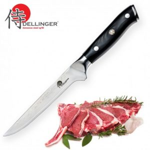 "nůž Boning 6"" (155mm) Dellinger Samurai Professional Damascus"