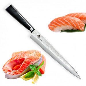 "5"" (240mm) Dellinger Sushi Professional Damascus"