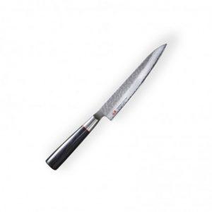 Petty 150mm-Suncraft Senzo Classic-Damascus-japonský kuchyňský nůž-Tsuchime- VG10–33 vrstev